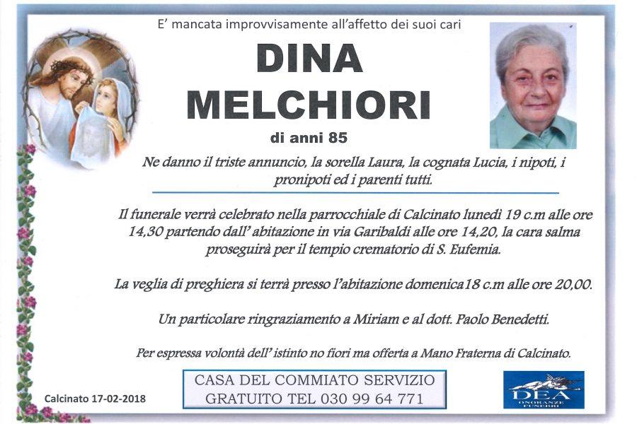 Dina Melchiori