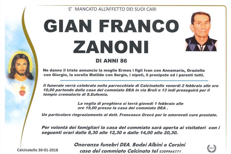 Gian Franco Zanoni