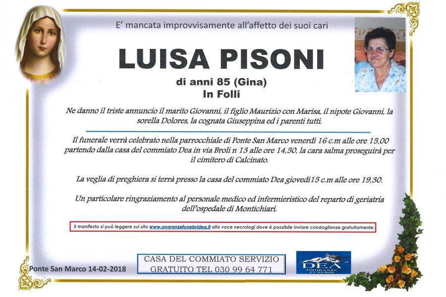 Luisa Pisoni