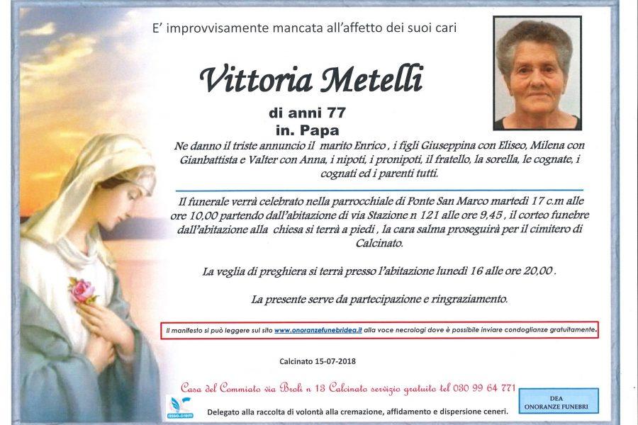 Vittoria Metelli