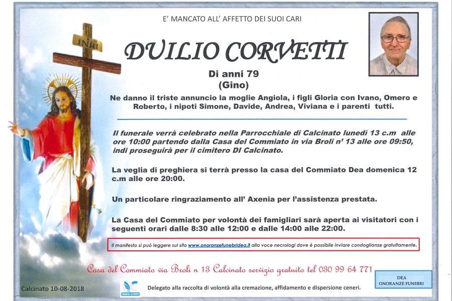 Duilio Corvetti