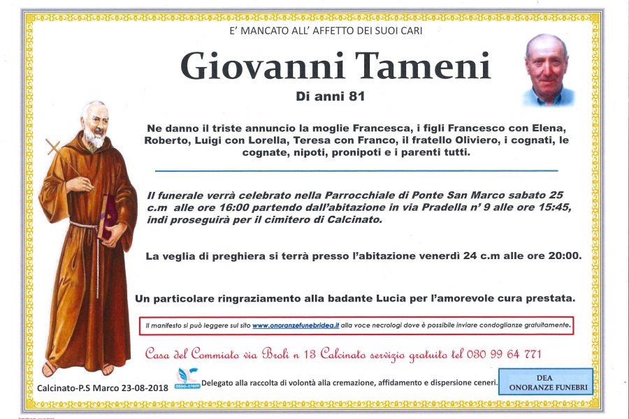 Giovanni Tameni