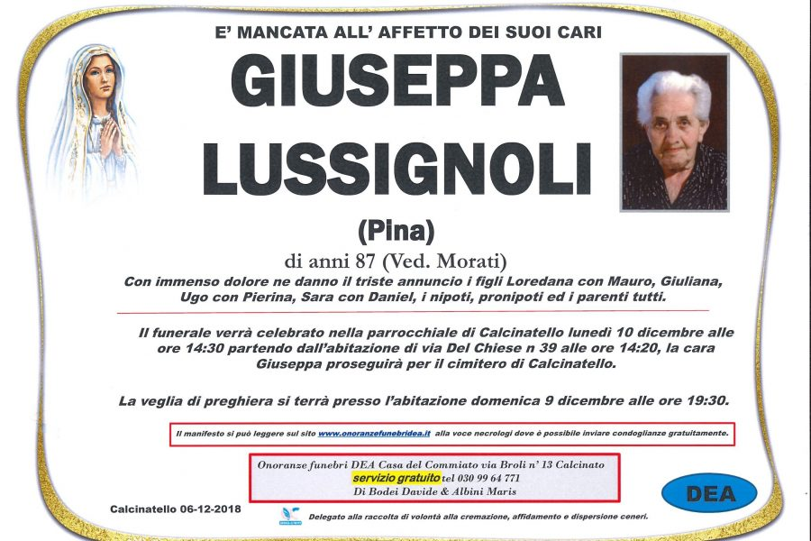 Giuseppa Lussignoli