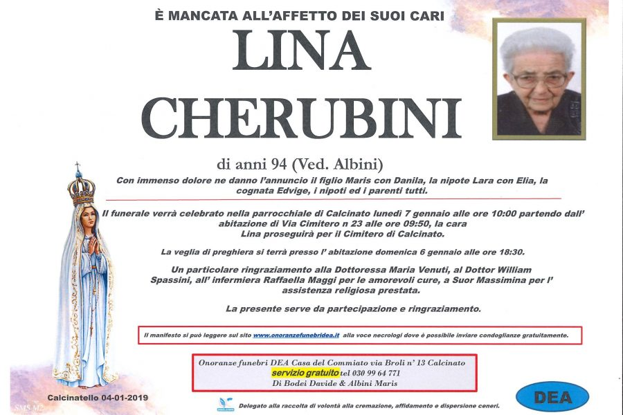 Lina Cherubini