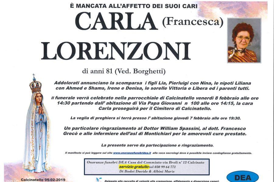 Carla Lorenzoni