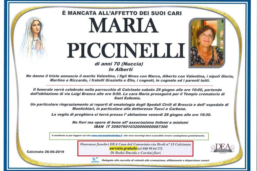 Maria Piccinelli