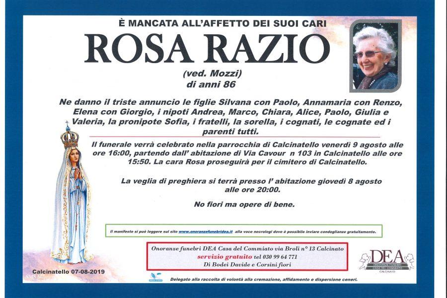 Rosa Razio