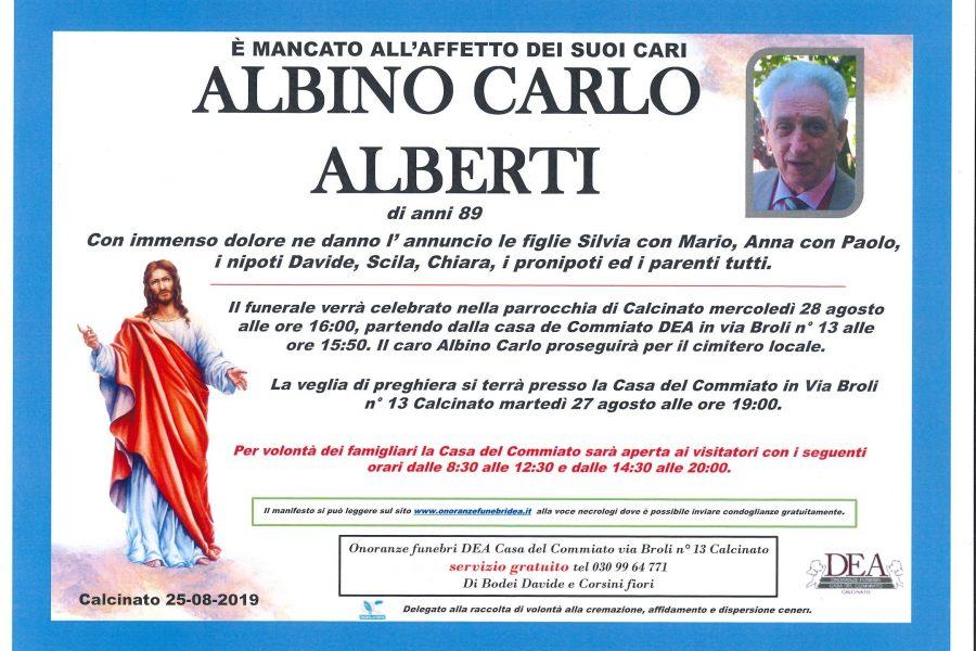 Albino Carlo Alberti