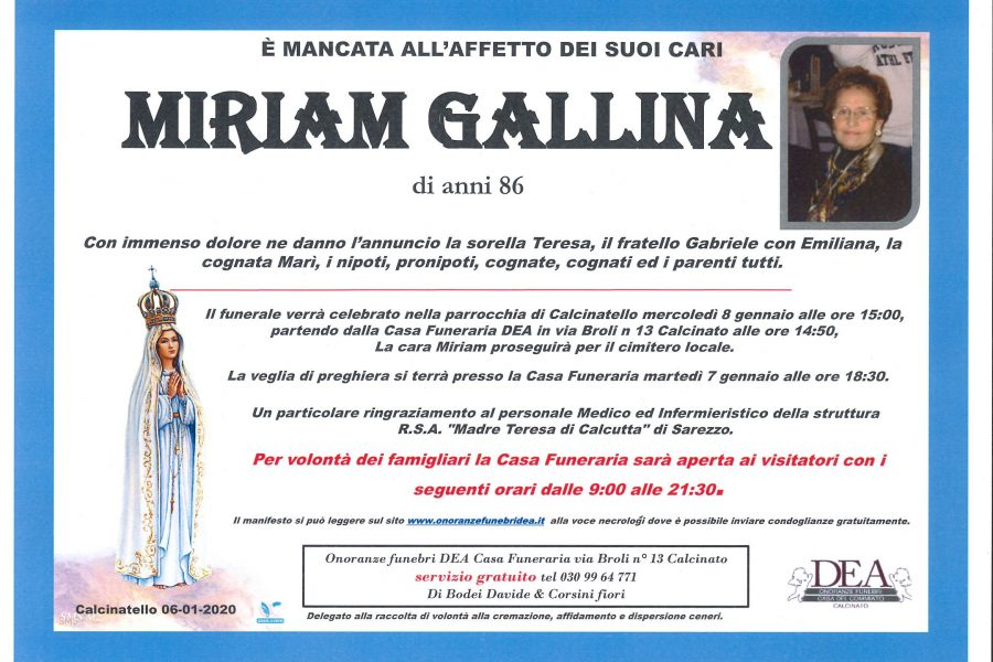 Miriam Gallina