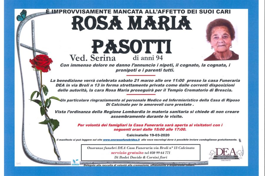 Rosa Maria Pasotti